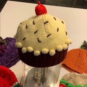 Accessories - Beanie hat! Food beanies! Artisan made knit BUNDLE
